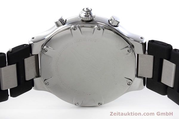 Used luxury watch Cartier Chronoscaph 21 chronograph steel quartz Kal. ETA 251.272 Ref. 2424  | 152652 09