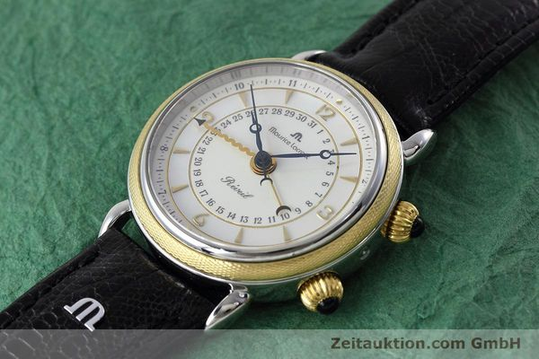 Used luxury watch Maurice Lacroix Reveil steel / gold manual winding Ref. 63511  | 152658 01