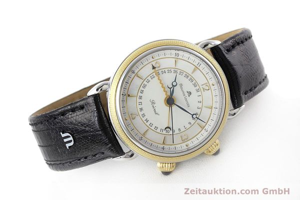 Used luxury watch Maurice Lacroix Reveil steel / gold manual winding Ref. 63511  | 152658 03