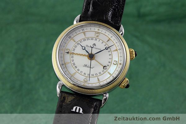 Used luxury watch Maurice Lacroix Reveil steel / gold manual winding Ref. 63511  | 152658 04
