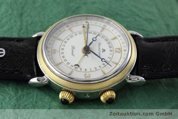 Used luxury watch Maurice Lacroix Reveil steel / gold manual winding Ref. 63511  | 152658 05