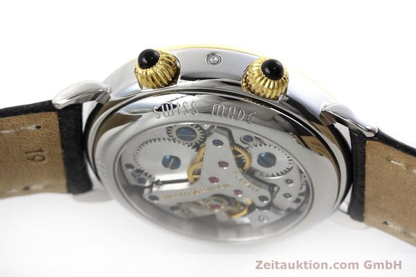 Used luxury watch Maurice Lacroix Reveil steel / gold manual winding Ref. 63511  | 152658 08