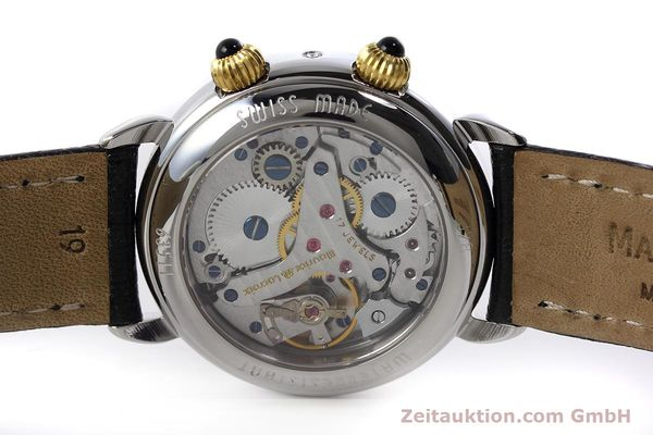 Used luxury watch Maurice Lacroix Reveil steel / gold manual winding Ref. 63511  | 152658 10