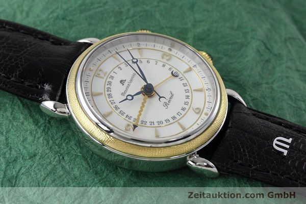 Used luxury watch Maurice Lacroix Reveil steel / gold manual winding Ref. 63511  | 152658 14