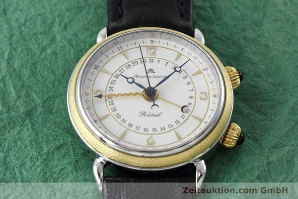 Used luxury watch Maurice Lacroix Reveil steel / gold manual winding Ref. 63511  | 152658 15