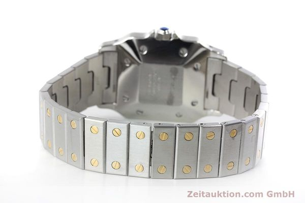 Used luxury watch Cartier Santos steel / gold automatic Kal. ETA 2671  | 152660 10