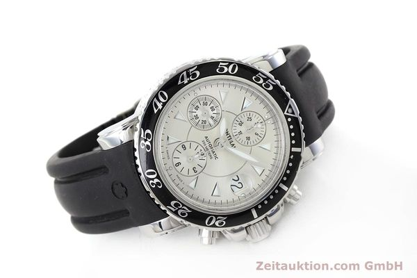 Used luxury watch Montblanc Sport Chronograph chronograph steel automatic Kal. 4810501 ETA 7750 Ref. 7034  | 152662 03