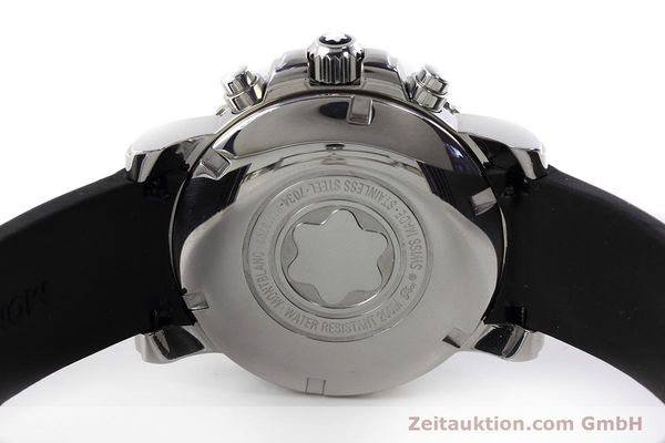 Used luxury watch Montblanc Sport Chronograph chronograph steel automatic Kal. 4810501 ETA 7750 Ref. 7034  | 152662 09
