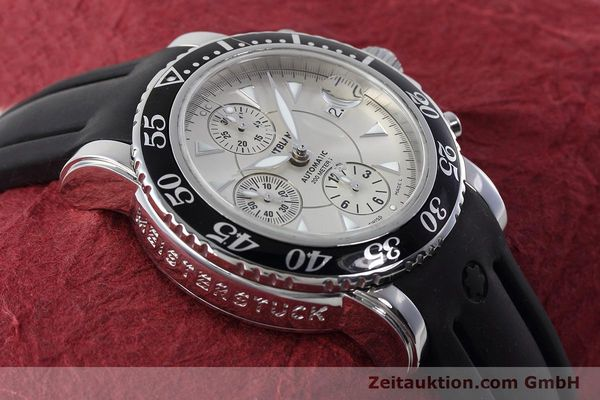 Used luxury watch Montblanc Sport Chronograph chronograph steel automatic Kal. 4810501 ETA 7750 Ref. 7034  | 152662 14