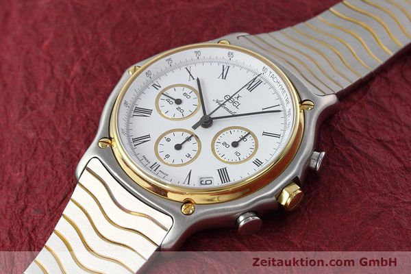 Used luxury watch Ebel 1911 chronograph steel / gold automatic Kal. 134 Ref. 1103  | 152663 01
