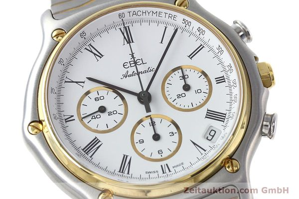 Used luxury watch Ebel 1911 chronograph steel / gold automatic Kal. 134 Ref. 1103  | 152663 02