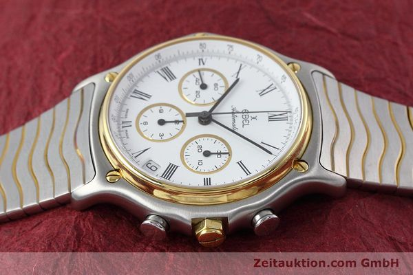 Used luxury watch Ebel 1911 chronograph steel / gold automatic Kal. 134 Ref. 1103  | 152663 05
