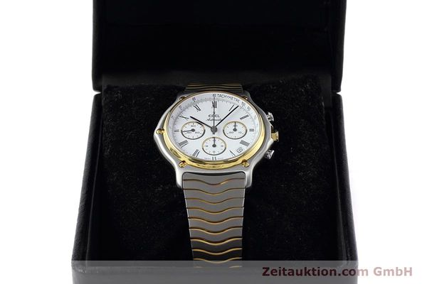 Used luxury watch Ebel 1911 chronograph steel / gold automatic Kal. 134 Ref. 1103  | 152663 07