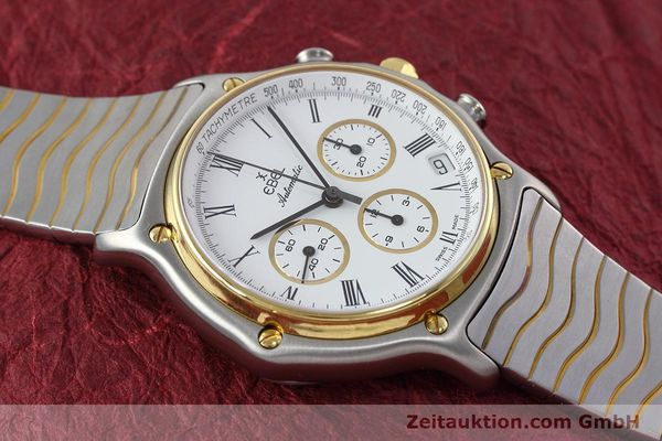 Used luxury watch Ebel 1911 chronograph steel / gold automatic Kal. 134 Ref. 1103  | 152663 13