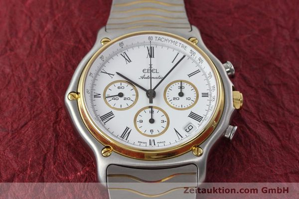 Used luxury watch Ebel 1911 chronograph steel / gold automatic Kal. 134 Ref. 1103  | 152663 14