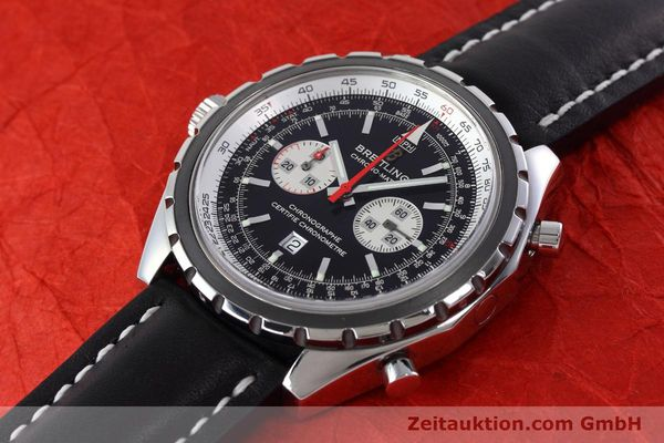 Used luxury watch Breitling Chrono-Matic chronograph steel automatic Kal. B41 ETA 2892A2 Ref. A41360  | 152666 01