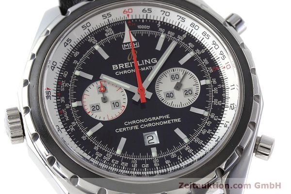 Used luxury watch Breitling Chrono-Matic chronograph steel automatic Kal. B41 ETA 2892A2 Ref. A41360  | 152666 02