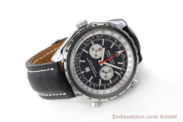 Used luxury watch Breitling Chrono-Matic chronograph steel automatic Kal. B41 ETA 2892A2 Ref. A41360  | 152666 03