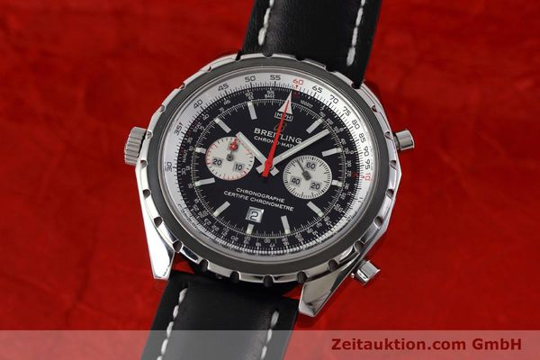 Used luxury watch Breitling Chrono-Matic chronograph steel automatic Kal. B41 ETA 2892A2 Ref. A41360  | 152666 04