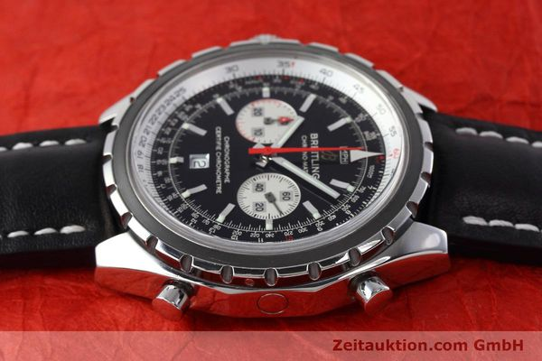 Used luxury watch Breitling Chrono-Matic chronograph steel automatic Kal. B41 ETA 2892A2 Ref. A41360  | 152666 05