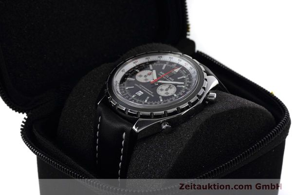 Used luxury watch Breitling Chrono-Matic chronograph steel automatic Kal. B41 ETA 2892A2 Ref. A41360  | 152666 07