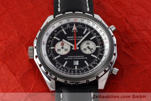 Used luxury watch Breitling Chrono-Matic chronograph steel automatic Kal. B41 ETA 2892A2 Ref. A41360  | 152666 15