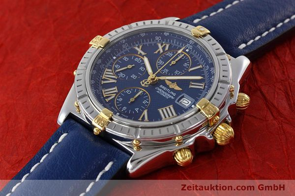 Used luxury watch Breitling Crosswind chronograph steel / gold automatic Kal. B13 ETA 7750 Ref. B13055  | 152669 01