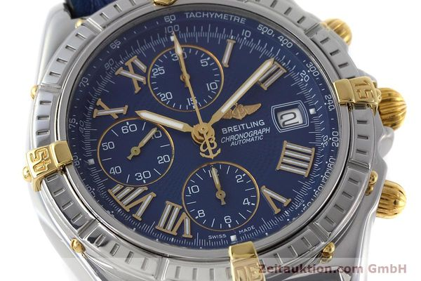 Used luxury watch Breitling Crosswind chronograph steel / gold automatic Kal. B13 ETA 7750 Ref. B13055  | 152669 02