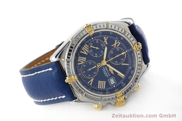 Used luxury watch Breitling Crosswind chronograph steel / gold automatic Kal. B13 ETA 7750 Ref. B13055  | 152669 03