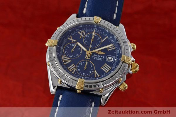 Used luxury watch Breitling Crosswind chronograph steel / gold automatic Kal. B13 ETA 7750 Ref. B13055  | 152669 04