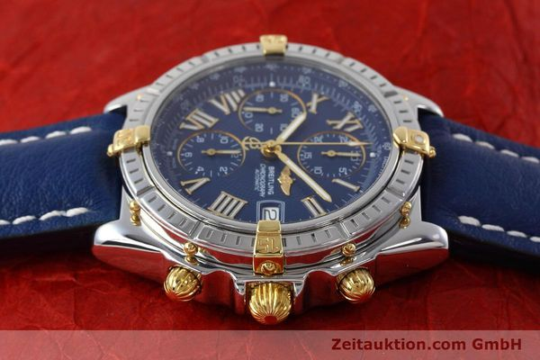 Used luxury watch Breitling Crosswind chronograph steel / gold automatic Kal. B13 ETA 7750 Ref. B13055  | 152669 05