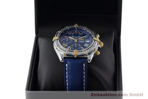 Used luxury watch Breitling Crosswind chronograph steel / gold automatic Kal. B13 ETA 7750 Ref. B13055  | 152669 07