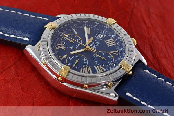 Used luxury watch Breitling Crosswind chronograph steel / gold automatic Kal. B13 ETA 7750 Ref. B13055  | 152669 14