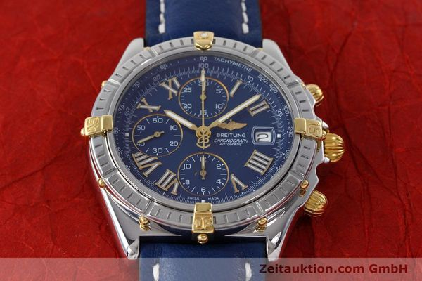 Used luxury watch Breitling Crosswind chronograph steel / gold automatic Kal. B13 ETA 7750 Ref. B13055  | 152669 15