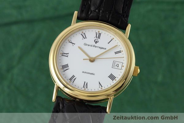 Used luxury watch Girard Perregaux * 18 ct gold automatic Kal. 220 Ref. 4799.51  | 152672 04