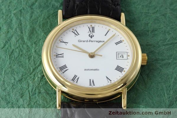 Used luxury watch Girard Perregaux * 18 ct gold automatic Kal. 220 Ref. 4799.51  | 152672 14