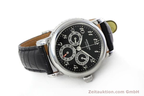 Used luxury watch Montblanc Meisterstück steel automatic Kal. 4810601 ETA 2892A2 Ref. 7018  | 152675 03