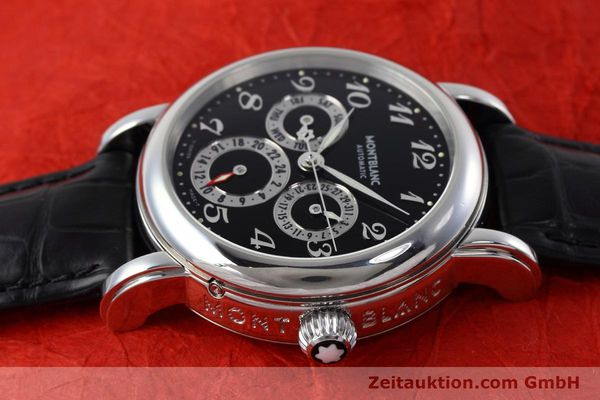 Used luxury watch Montblanc Meisterstück steel automatic Kal. 4810601 ETA 2892A2 Ref. 7018  | 152675 05