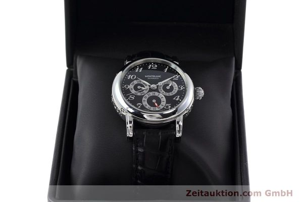 Used luxury watch Montblanc Meisterstück steel automatic Kal. 4810601 ETA 2892A2 Ref. 7018  | 152675 07