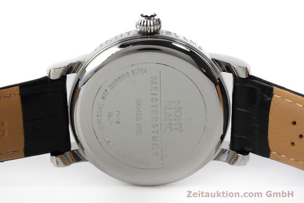 Used luxury watch Montblanc Meisterstück steel automatic Kal. 4810601 ETA 2892A2 Ref. 7018  | 152675 09
