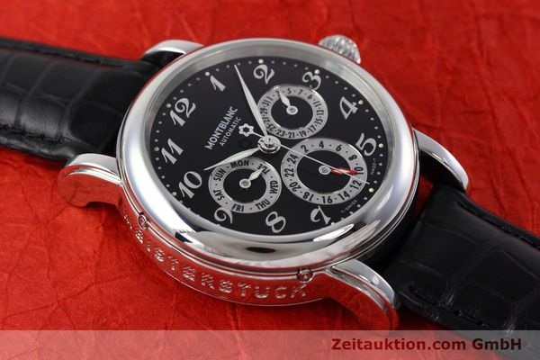 Used luxury watch Montblanc Meisterstück steel automatic Kal. 4810601 ETA 2892A2 Ref. 7018  | 152675 14
