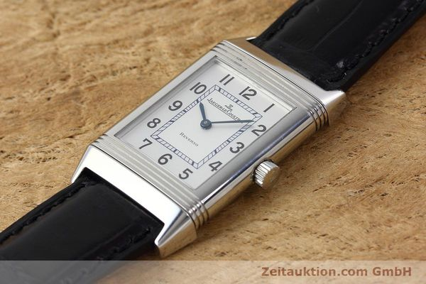 Used luxury watch Jaeger Le Coultre Reverso steel manual winding Kal. 846/1 Ref. 252.8.86  | 152676 01
