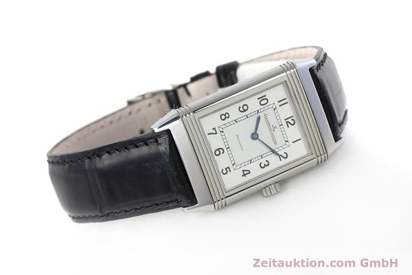 Used luxury watch Jaeger Le Coultre Reverso steel manual winding Kal. 846/1 Ref. 252.8.86  | 152676 03