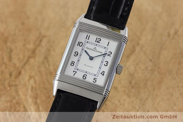 Used luxury watch Jaeger Le Coultre Reverso steel manual winding Kal. 846/1 Ref. 252.8.86  | 152676 04