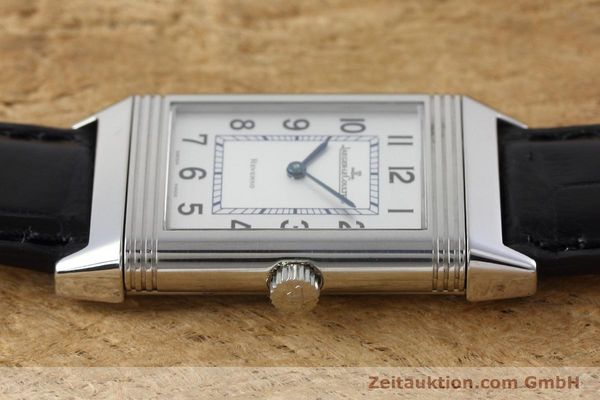 Used luxury watch Jaeger Le Coultre Reverso steel manual winding Kal. 846/1 Ref. 252.8.86  | 152676 05