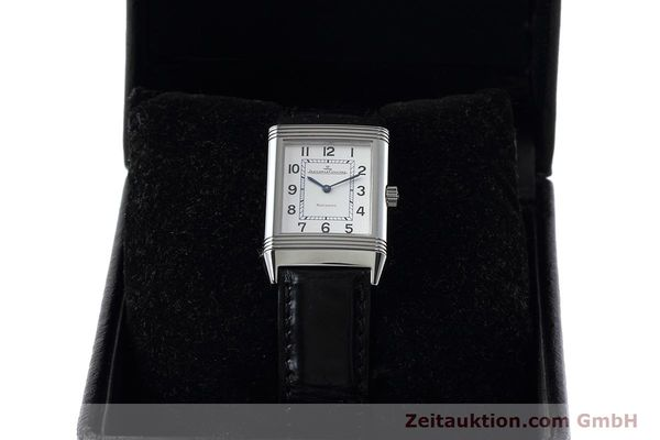 Used luxury watch Jaeger Le Coultre Reverso steel manual winding Kal. 846/1 Ref. 252.8.86  | 152676 07