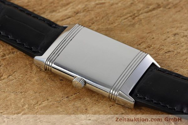 Used luxury watch Jaeger Le Coultre Reverso steel manual winding Kal. 846/1 Ref. 252.8.86  | 152676 13