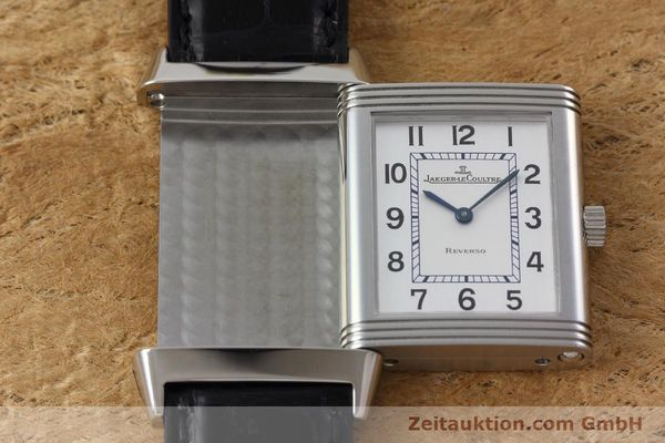 Used luxury watch Jaeger Le Coultre Reverso steel manual winding Kal. 846/1 Ref. 252.8.86  | 152676 14