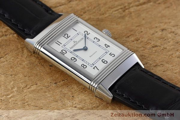 Used luxury watch Jaeger Le Coultre Reverso steel manual winding Kal. 846/1 Ref. 252.8.86  | 152676 15