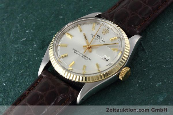montre de luxe d occasion Rolex Datejust acier / or  automatique Kal. 1570 Ref. 1601  | 152681 01